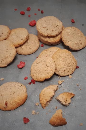 hocolade frambozen cookies