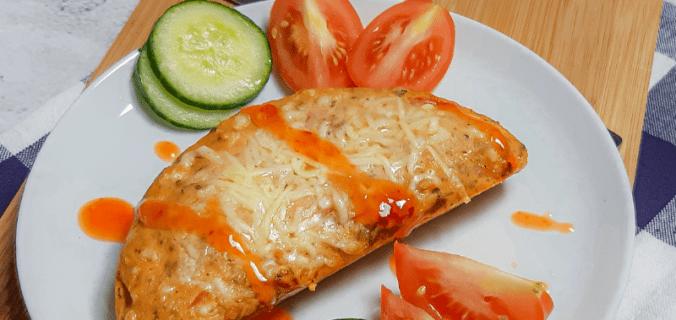 Kaas-tomaat broodje