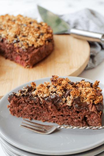 Gezondere chocolade taart