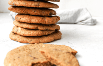 Triple chocolade cookies