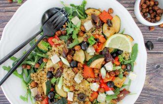 Mediterraanse couscous salade