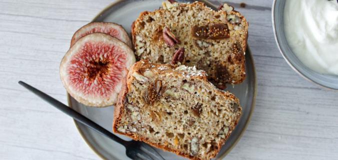 Vijgen pecannoten brood