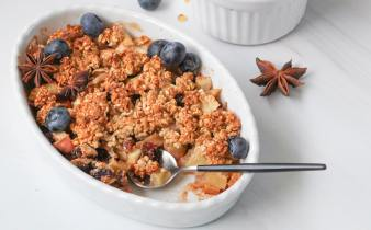 Easy appel crumble