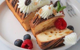 Luxe vanille cake