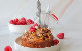 Hartig frambozen taartje