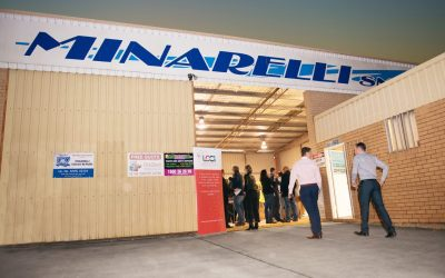 June Business After Hours at Minarelli Smash Repairs, 28 June 2017