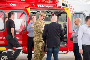 BAH at Westpac Rescue Helicopter, 25 October 2017