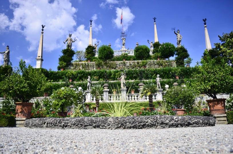 Il maestoso giardino dell'isola Bella