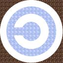 Copyleft tiger-white-blue