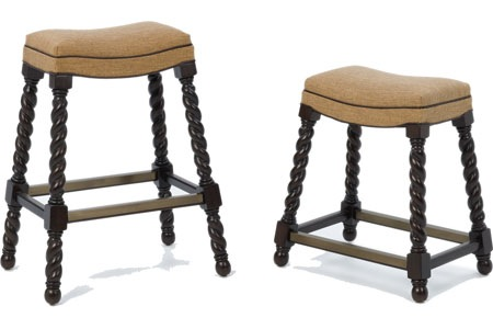 I love these stools for the kitchen-maybe in leather