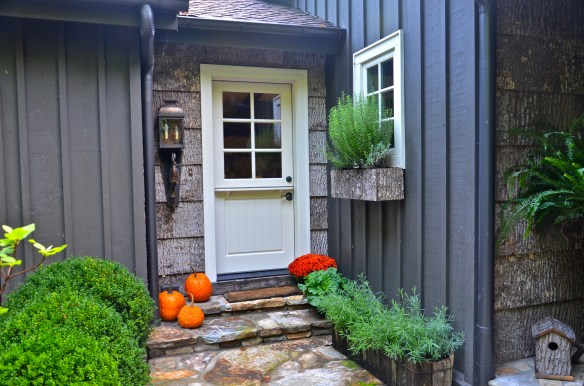 Dutch kitchen door is ready for Halloween