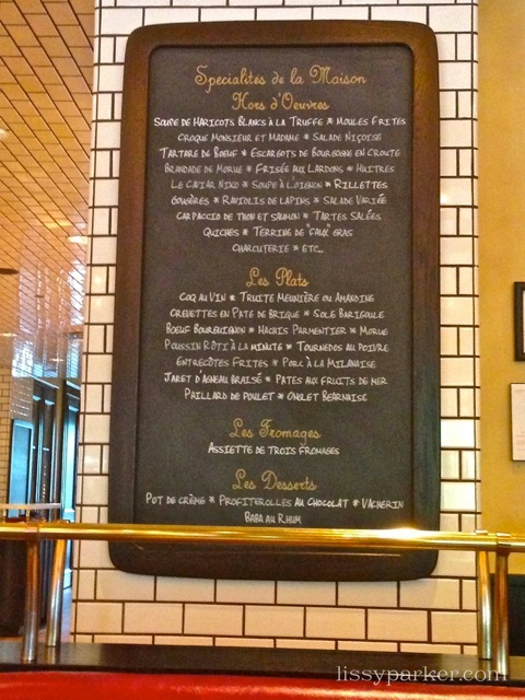 Just take a look at the Menu board—Yum