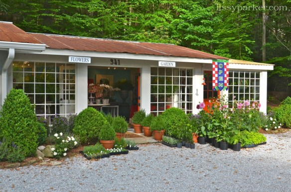 Best Little Flower Shop—wonderful curb appeal