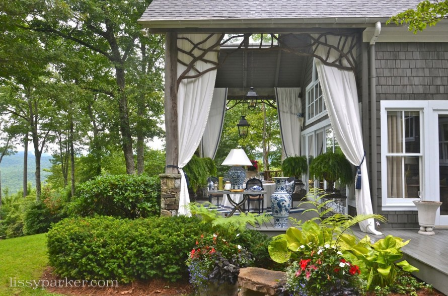 Blue and White Porch by the talented Lynn Monday