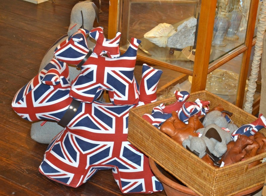 Or, how about a 'Union Jack' stuffed puppy