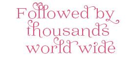 Followed by 1000s world wide