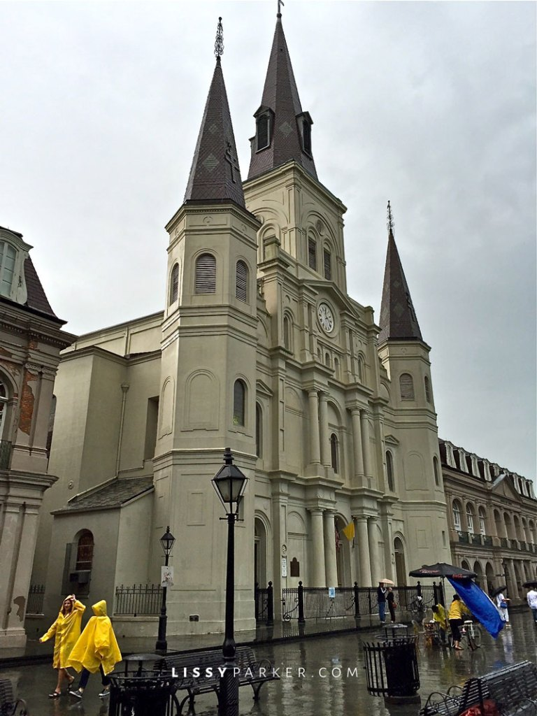 St. Louis Catherdral, New orleans, French Quarter
