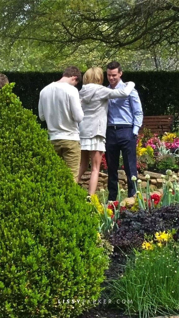 The Originals cast in the garden