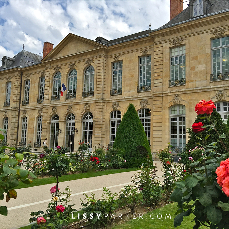 Warm friendly France-Musee' Rodin in Paris