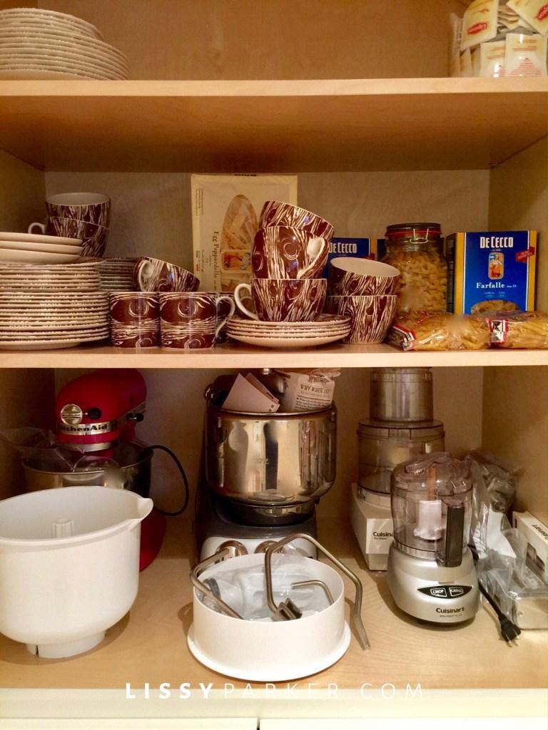 organizing pantry