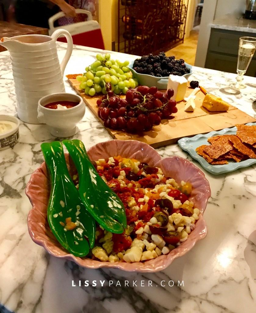 corn and tomato salad
