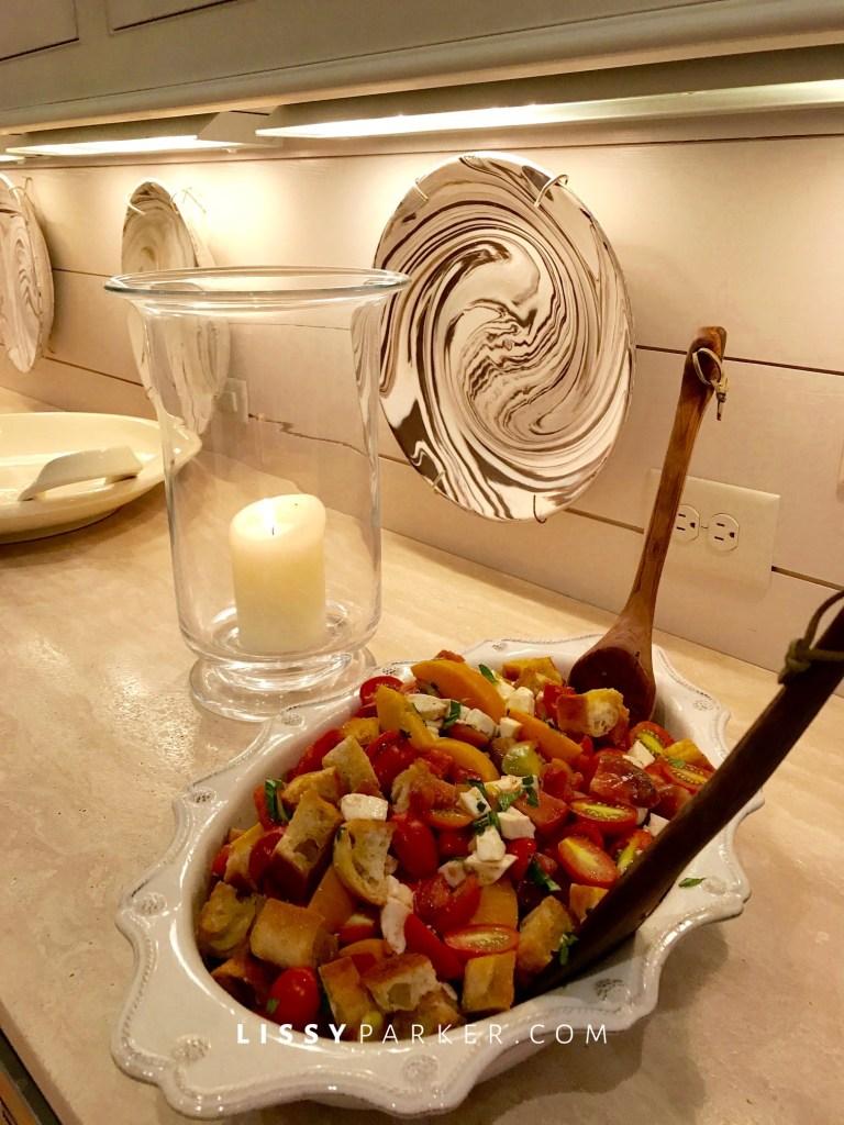 toamato and feta salad