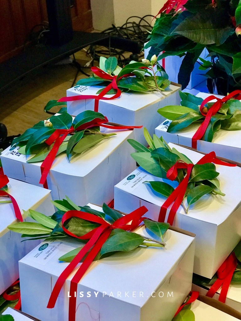 boxed lunches decorated