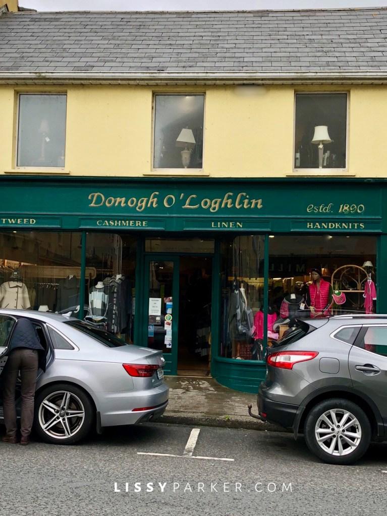 Irish shopping