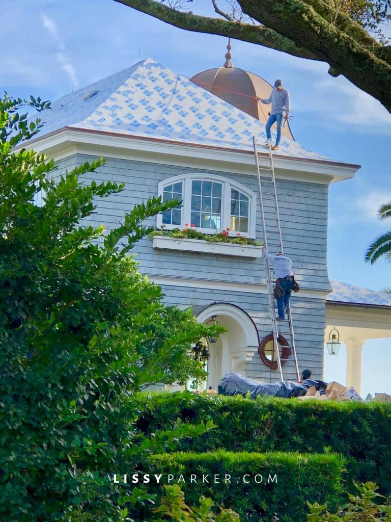 Sea Island guest house