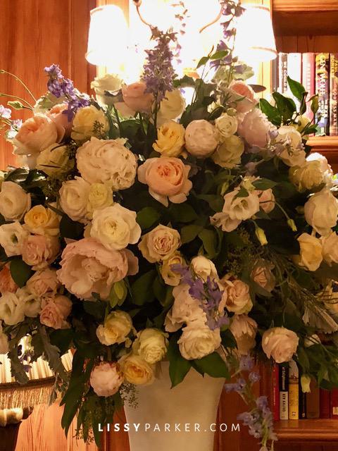 Sea Island wedding flowers