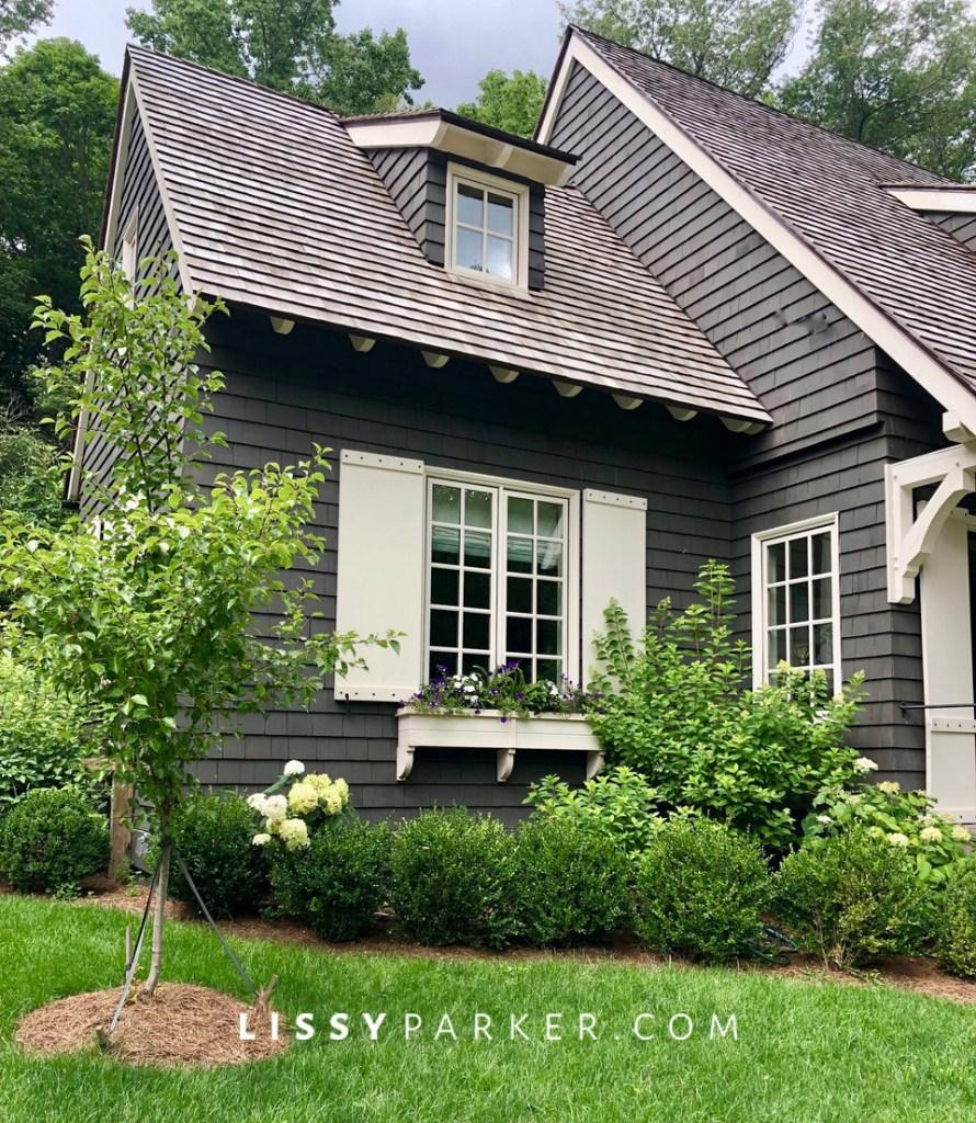 Betsy's new house