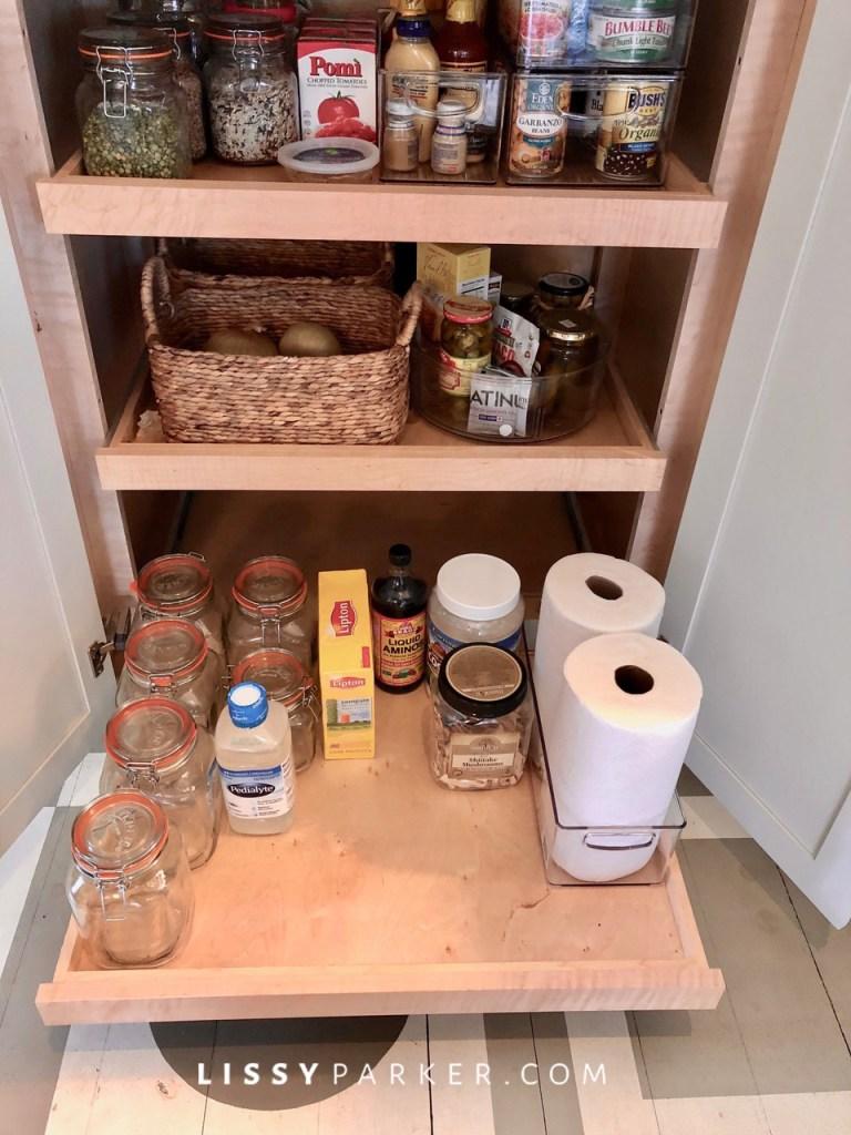 quarantine fun in the pantry