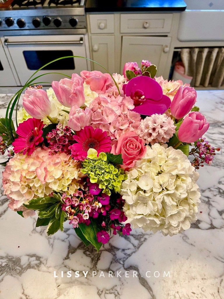 Friday flowers, Valentine's Day