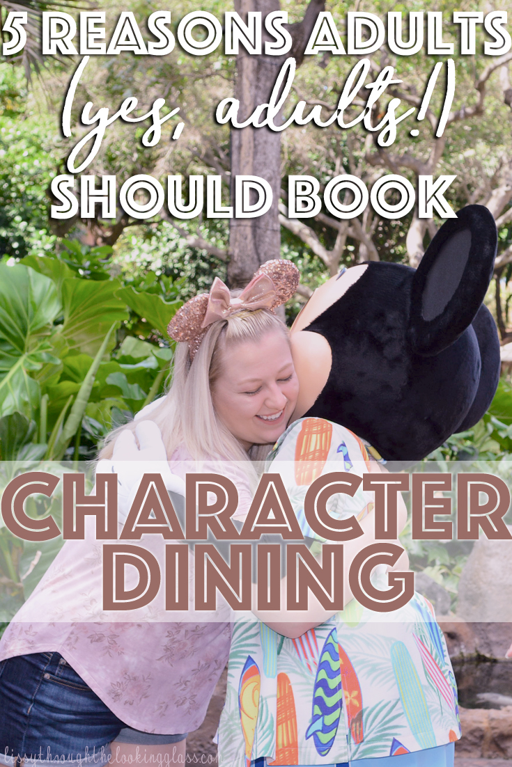 disney character dining