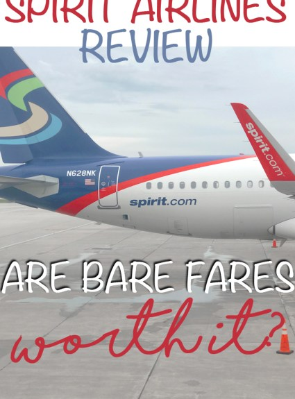 Spirit Airlines Review – Are Bare Fares Worth It?