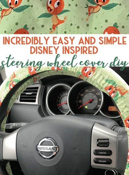 Make Your Own Steering Wheel Cover DIY