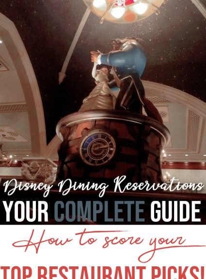 How to Snag Your Dream Disney Dining Reservations