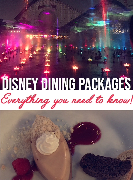 Disney Dining Packages – Everything You Need to Know!