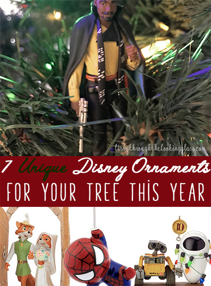 7 Unique Disney Christmas Ornaments for Your Tree