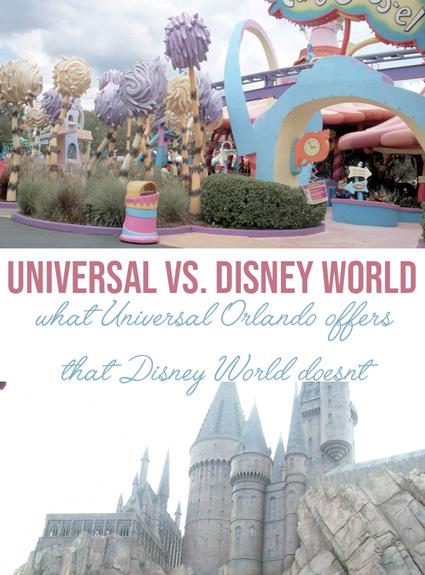Universal Orlando Vs. Walt Disney World