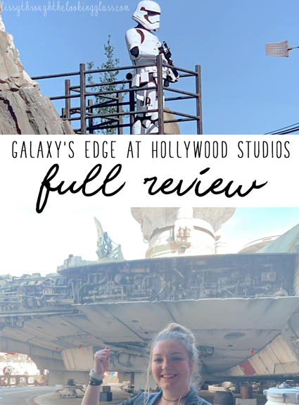 Review of Galaxy's Edge in Disney's Hollywood Studios