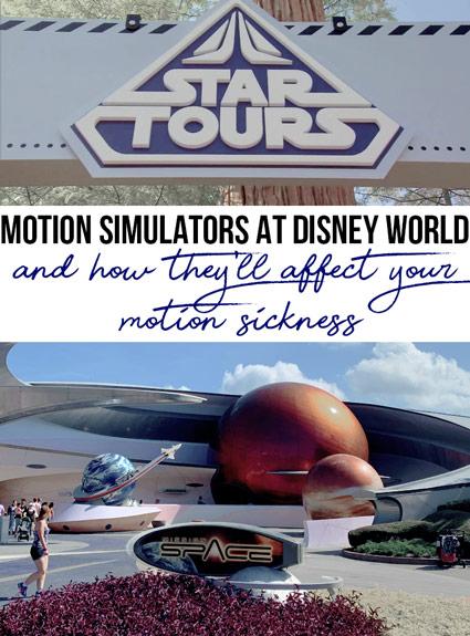 Motion Simulators at Disney – Review for Motion Sickness