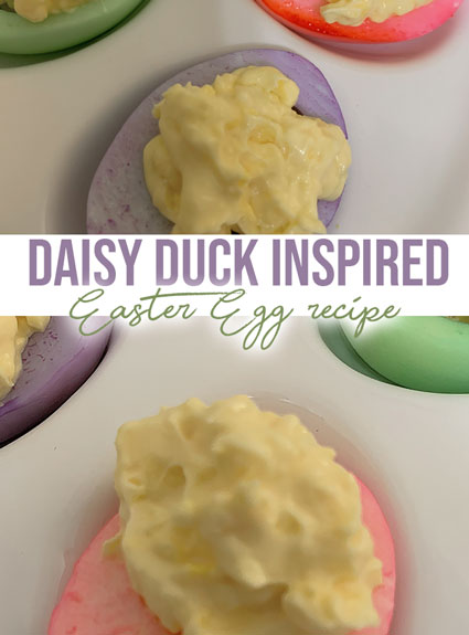 Daisy Duck Easter Eggs DIY