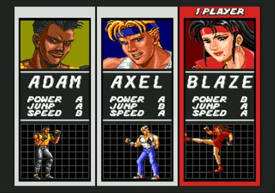 Image result for Characters streets of rage