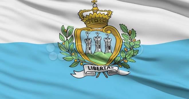 San Marino national flag
