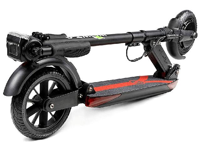patinete eléctrico E-Twow Booster V plegado
