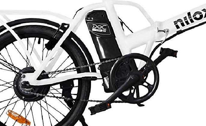 Bateria y motor bicicleta Nilox X1