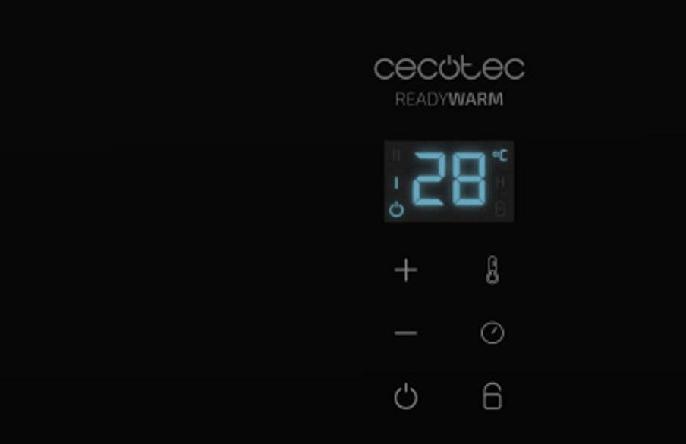 Características del Convector de cristal Cecotec Ready Warm 6700