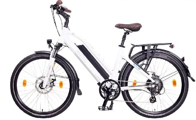 Diseño de la bicicleta eléctrica NCM Milano
