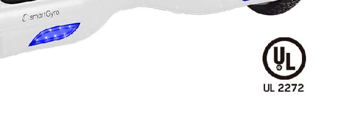 Certificado de calidad del hoverboard SmartGyro X2 UL